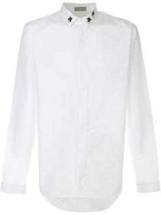 классическая рубашка с вышивкой Dior Homme