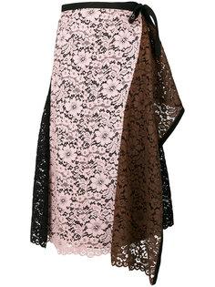 юбка с кружевом Antonio Marras