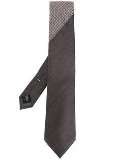галстук с контрастным принтом Canali