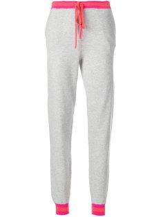 спортивные брюки с полосатой отделкой Chinti & Parker