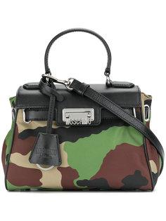 сумка на плечо с камуфляжным принтом Moschino Vintage