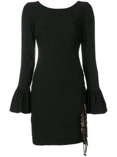 платье-мини с кружевными вставками Twin-Set