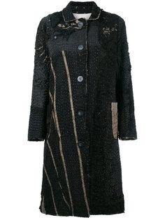 """пальто средней длины в викторианском стиле дизайна """"пэчворк"""" By Walid"""