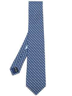 галстук с принтом полярных медведей Salvatore Ferragamo