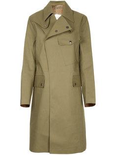 пальто с подкладкой из кроличьего меха Mackintosh