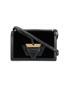 бархатная квадратная сумка Barcelona Loewe