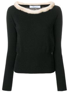 свитер-водолазка Blumarine