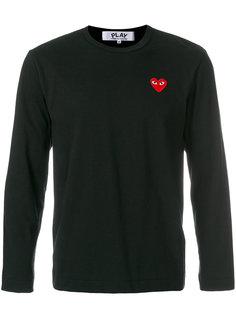 футболка с логотипом в форме сердца Comme Des Garçons Play