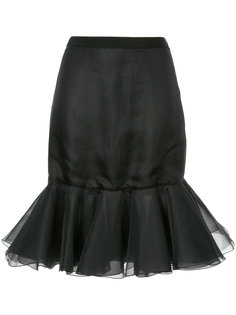 юбка с баской на подоле Giambattista Valli