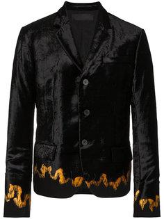 пиджак с вышитой отделкой Haider Ackermann