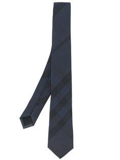 узкий галстук в клетку Burberry