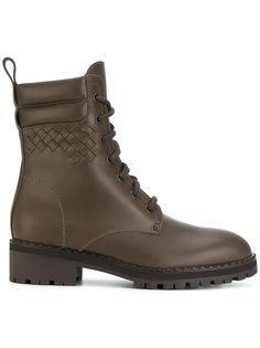 ботинки на шнуровке Bottega Veneta