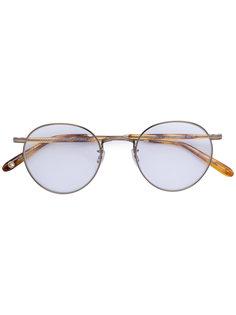 очки в круглой оправе Garrett Leight