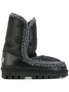лакированные зимние ботинки Mou