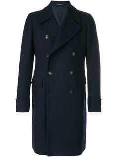 классическое двубортное пальто Tagliatore