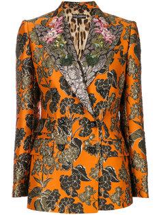 жаккардовый пиджак Dolce & Gabbana