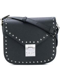 сумка на плечо с заклепками MCM