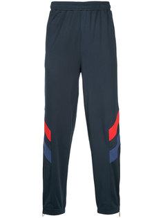 спортивные брюки дизайна колор-блок Kappa