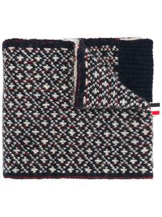 трикотажный шарф с пингвином Thom Browne