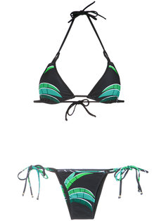 tropical print bikini set Amir Slama