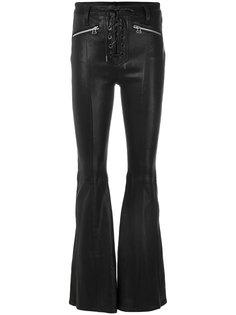 расклешенные брюки со шнуровкой Rag & Bone /Jean