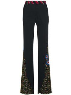 широкие брюки с завышенной талией Etro