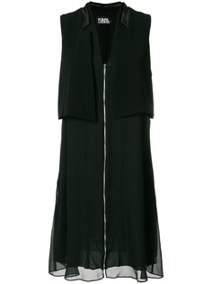 платье-смокинг без рукавов Karl Lagerfeld