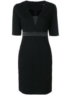 платье по фигуре с V-образной горловиной Karl Lagerfeld
