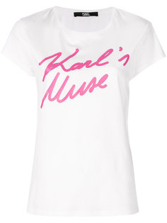 футболка Karls Muse Karl Lagerfeld