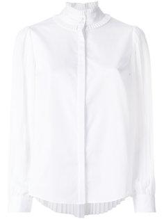 блузка с плиссировкой Karl Lagerfeld