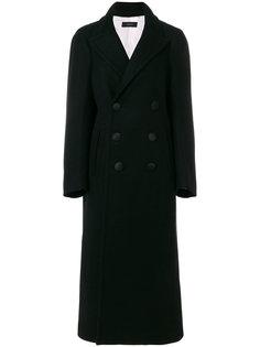 двубортное пальто Sys Joseph