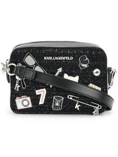 прямоугольная сумка Klassik Pins Karl Lagerfeld