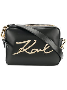прямоугольная сумка Signature Karl Lagerfeld