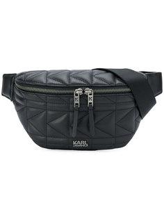 стеганая сумка через плечо Karl Lagerfeld