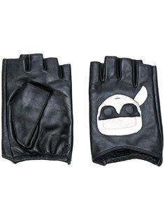 перчатки Karl Ikonik Karl Lagerfeld