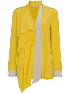 асимметричная блузка Fendi