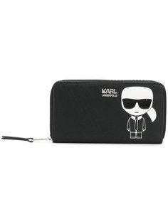 кошелек на молнии Karl Ikonik Karl Lagerfeld