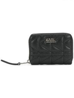 кошелек с застежкой-молнией K/Kuilted Karl Lagerfeld