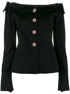 пиджак с открытыми плечами Viva Osman