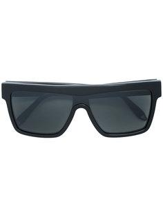солнцезащитные очки в объемной оправе  Victoria Beckham