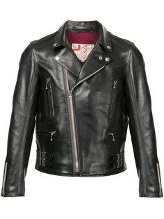 классическая байкерская куртка Addict Clothes Japan