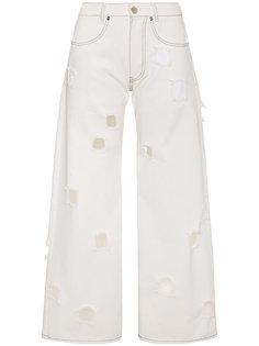 джинсы прямого кроя Mia Rejina Pyo
