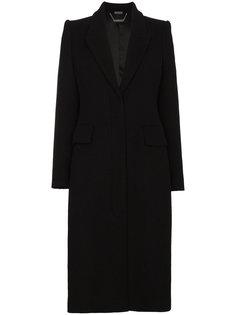 пальто корсетного кроя Alexander McQueen