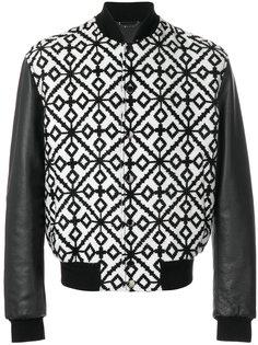 жаккардовая куртка-бомбер Versace