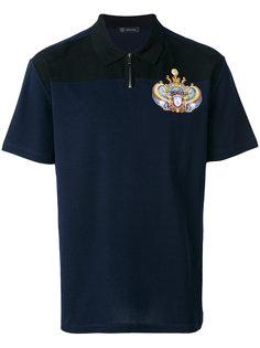 футболка-поло с логотипом Triptych  Versace