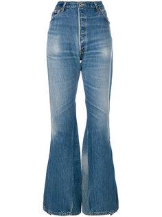 расклешенные джинсы Re/Done