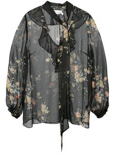 блузка с рюшами Maples Zimmermann
