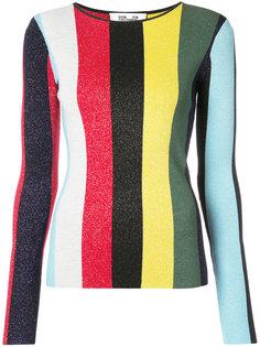 полосатый пуловер с круглым вырезом Dvf Diane Von Furstenberg