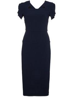 платье с рукавами-кап Royston  Roland Mouret