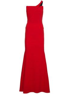 длинное платье с открытыми плечами Lockton  Roland Mouret